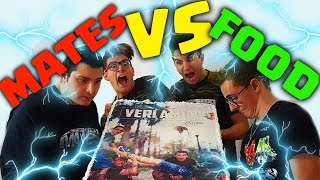 MATES VS FOOD CON I CAPELLI COLORATI - 15KG DI TORTA!!