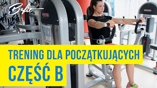 Ćwiczenia na siłowni dla kobiet: Natalia Świenc [Projekt Befit]