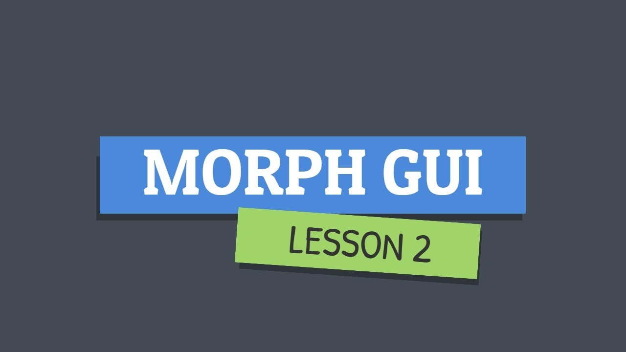 Roblox Star Wars Morph Selection Gui Part 2 By The Letus Garden