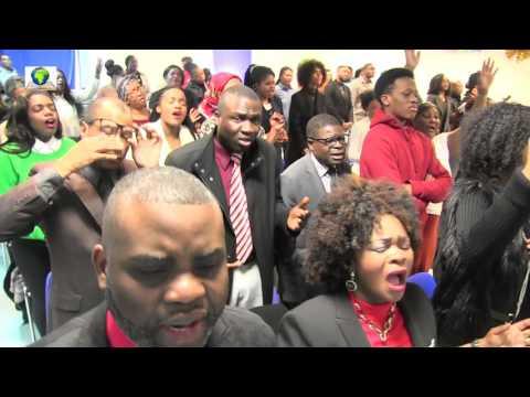 Eglise MECV RENNES/FRANCE ( Aimé NKANU journée de louange et adoration)