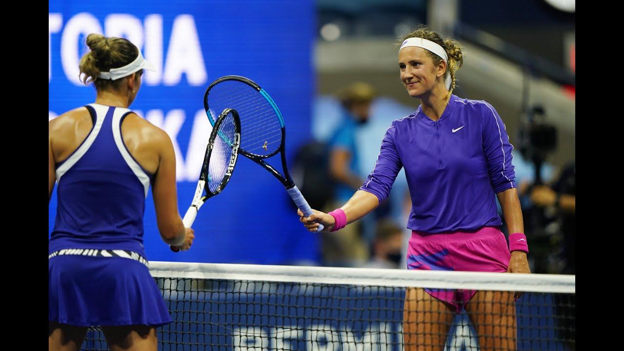 Victoria Azarenka vs Elise Mertens Extended Highlights | US Open 2020 Quarterfinal