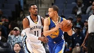 Stephen Curry Dishes and Swishes to Top the Grizzlies
