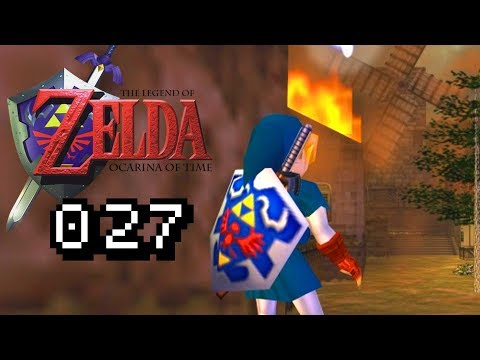 KAKARIKO BRENNT !? - Lets Play Zelda Ocarina of Time Gameplay #027 Deu...
