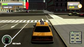 NYC Taxi Simulator Gameplay/Review [PC/German]