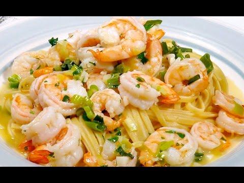 Shrimp Scampi Diabetic Recipes Step By Step Healthy Recipes Youtube