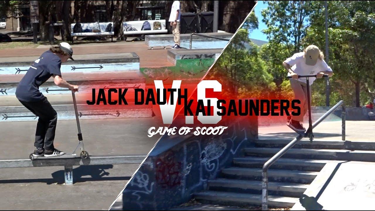 Kai Saunders Vs Jack Dauth Game Of Scoot Youtube