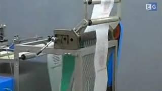Одноручейковая пакетоделательная машина для изготовления пакетов типа