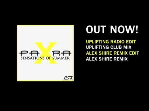Para X - Sensations of Summer (Uplifting Radio Edit) (OUT NOW!!)