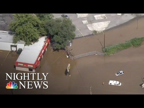 More Than 30 Million On Flash Flood Watch On The East Coast | NBC Nightly News
