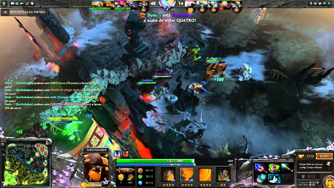 how to play earthshaker dota 2