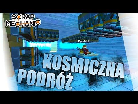 Scrap Mechanic Po Polsku #208 - Podróż W Kosmos /Paveł || Plaga