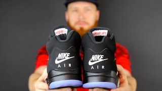 2016 NIKE AIR JORDAN 5 METALLIC REVIEW!