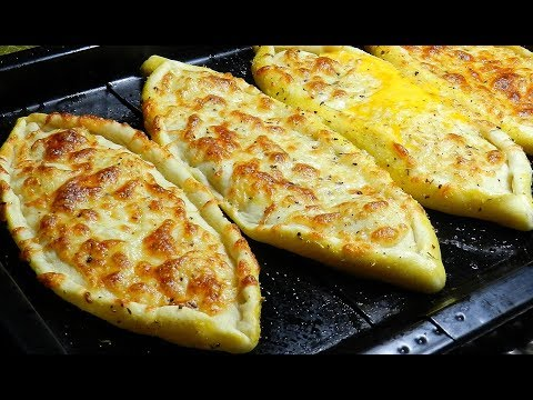 CHEESE PIDE Recipe - DELICIOUS! thumbnail
