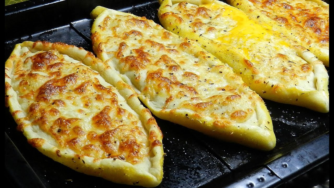 CHEESE PIDE Recipe - DELICIOUS!