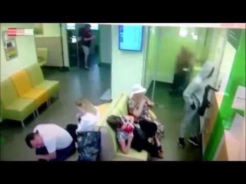 Ограбление отделения Сбербанка в Перми