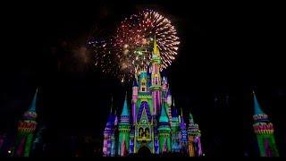 #DisneyParksLIVE: Minnie's Wonderful Christmastime Fireworks | Walt Disney World