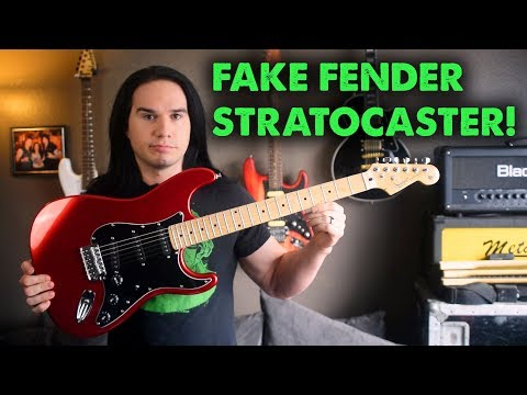 Fake Fender Strat! - Should Fender Be Worried?? - Demo / Review