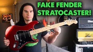 Fake Fender Strat! - Should Fender Be Worried?? - Demo / Review Video