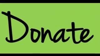 Donating statistics