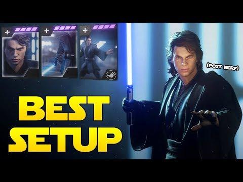 Battlefront 2 Anakin Skywalker Best Star Card Setup! (POST NERF)