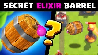SECRET ELIXIR BARREL? Clash Royale Mythbusters! Episode #2