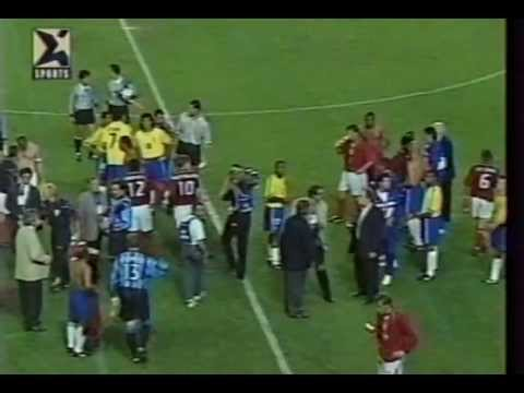 ENGLAND 0-1 BRAZIL 1997 second half