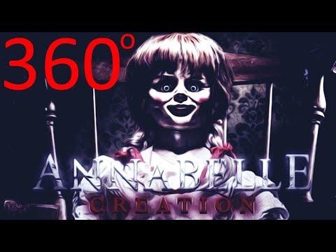 """VR 360 Ужасы """"Проклятие Аннабель. Зарождение зла"""""""