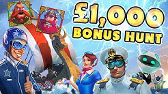 SUPER HERO SLOTS £1K BONUS HUNT !!!