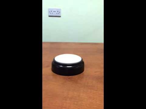 Talking button clock   Vid