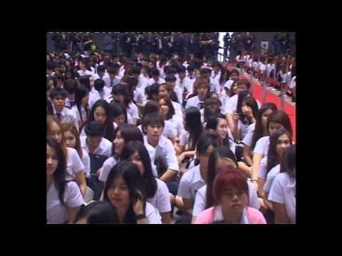 มหาวิทยาลัยกรุงเทพ : ปฐมนิเทศนักศึกษาใหม่ ปีการศึกษา 2557
