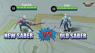 WHY SABER REVAMP WON'T WORK IN RANKED GAMES - OLD VS NEW SKILL COMPARISON MLBB
