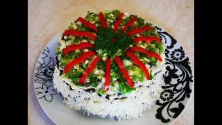 ВКУСНЕЙШИЙ печеночный торт с ШАМПИНЬОНАМИ и СЫРОМ