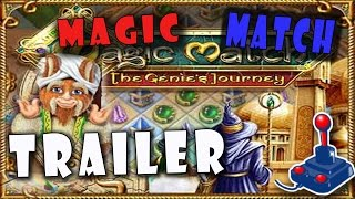 Magic Match The Genies Journey Gameplay | FreeGamePick