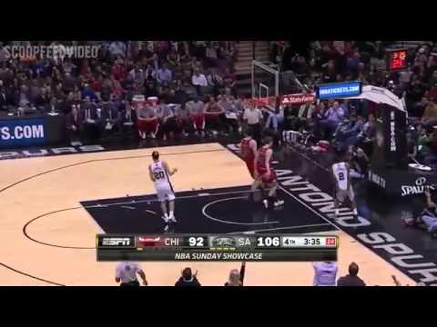 Chicago Bulls vs San Antonio Spurs - Full Game Highlights | March 8, 2015 | NBA 2014-15 Season