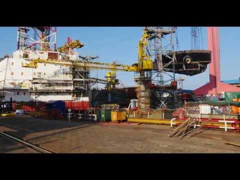 Shanghai Shipyard, China - 4K Panorama by Toby Smith