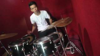 cover drum noah andaikan kau datang kembali a r