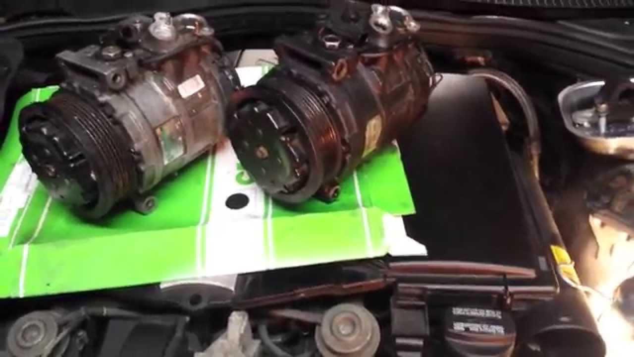 Part 4 / 7 - Mercedes S-Class S320 W220 petrol - AC compressor from eBay