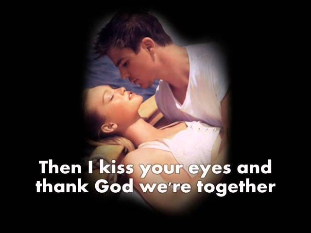 I Dont Want To Miss A Thing by Aerosmith ~ Lyrics On Screen ~