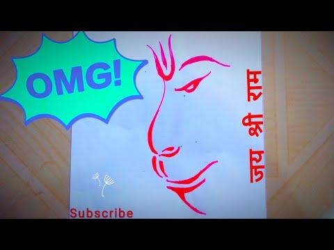 002ca233cceb7 How to draw Hanuman   Hanuman Face Drawing   Drawing for kids
