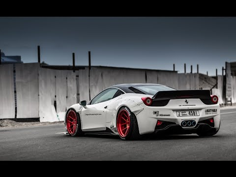 liberty walk lb performance ferrari 458 oakley design youtube. Black Bedroom Furniture Sets. Home Design Ideas