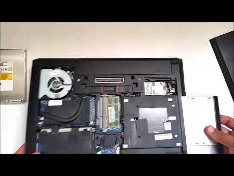 how to replace DVD|CD Drive On a Laptop HP EliteBook 8470p