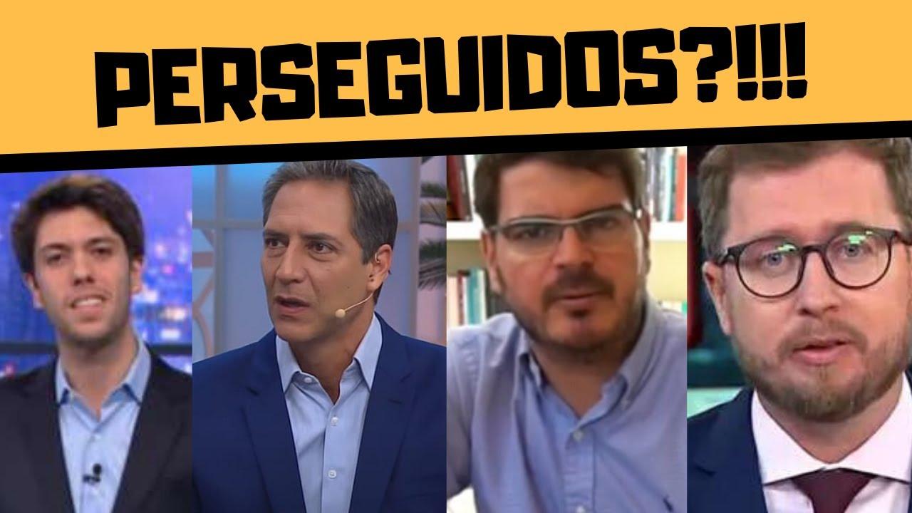 CAIO COPPOLLA, LACOMBE, NARLOCH E CONSTANTINO: PERSEGUIDOS?!!!