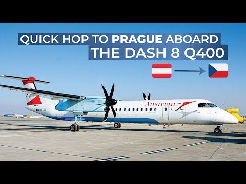 TRIPREPORT | Austrian (ECONOMY) | Vienna - Prague | Bombardier Dash 8 Q400