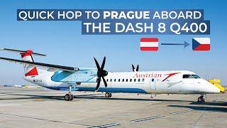 TRIPREPORT   Austrian (ECONOMY)   Vienna - Prague   Bombardier Dash 8 Q400