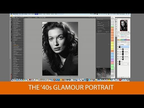 The '40s Glamour Portrait