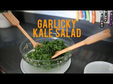 Massaged Kale Salad Recipe