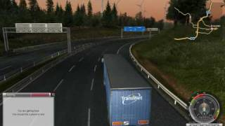 Fred! plays: German Truck Simulator (part 2)