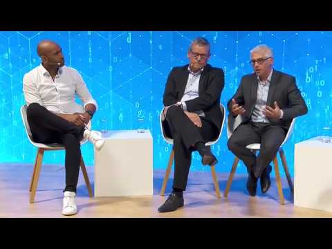 "Braincube - ""Future Of Automation"" panel discussion - Siemens - Hannover Messe 18"