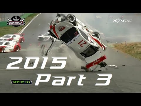 2015 Motorsport Crashes Part 3 (No Music) - YouTube