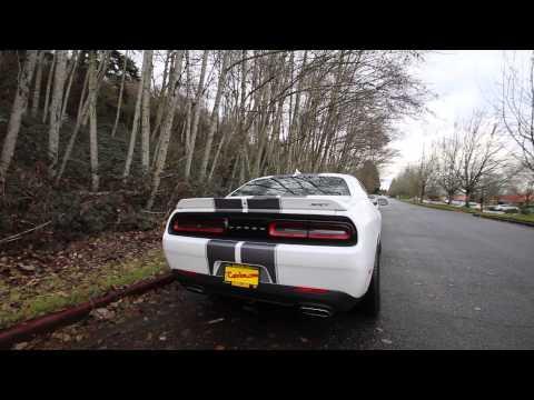 2015 dodge challenger srt8 white fh715151 bellevue seattle youtube - Dodge Challenger 2015 Srt8 White